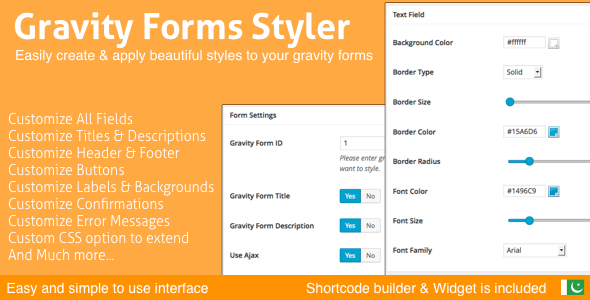 Gravity Forms Styler